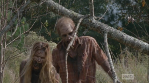 ...walkers, coming to ruin another beautiful moment  between the living.
