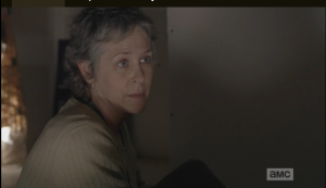Carol gets right down to business.