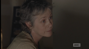 Carol looks at Rick.