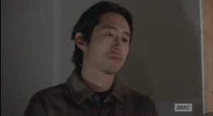 Glenn's look says it all. Yeah, right.