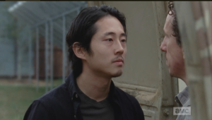 Glenn menaces closer to Nicholas.