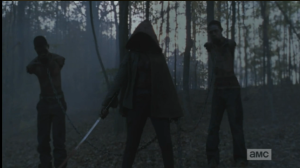 michonne and her walker pets 2