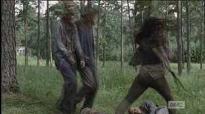 michonne flashback