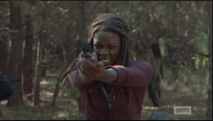 michonne killinface