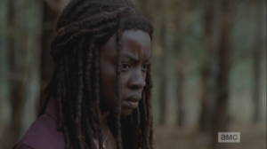 michonne remembering