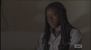 Listening to this, Michonne's like,