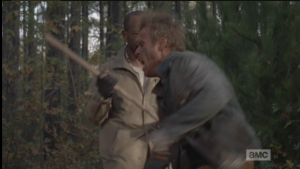 It is truly satisfying to watch Morgan kick some wolfie ass, #kungfupimp style.