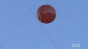 As it happens when Rick Smash! is smashing and killing, shit gets all slo-mo, and, in his killing haze, Rick watches the red balloon of Episode 515 fly away.