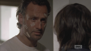 Rick has some of his finest (and I mean finest) moments when he is getting schooled by his son.