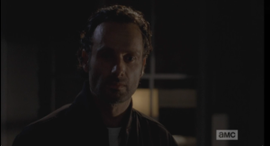 Rick's face is stony as he digests this information.