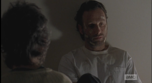 Rick shakes his head, taking in the full import of Carol's words.