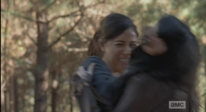 Rosita joins the #walkerkillinparty