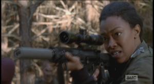 ...Sasha's outta bullets.