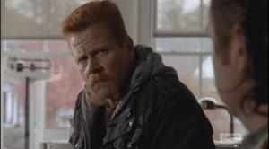 After a moment, Abraham looks back at Eugene...