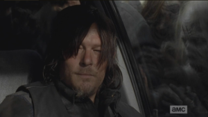 Daryl looks over at Aaron,  regards him with a little smile, and a new respect.