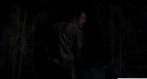 ...and we see Glenn come up behind Nicholas, and beat him down with one punch. Yes!