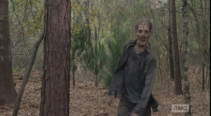 The moving figure, however, turns out not to be Glenn, but Je Ne Sais Quoi Walker, whose face alights as it spies Nicholas and begins to stride towards him with a certain je ne sais quoi style and flair.