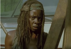 michonne troubled
