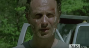 Is Morgan talking to Rick? Deanna? Someone else?