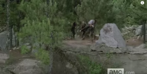 ...by making like a hot linebacker and tackling his young ass, just at the exact, perfect moment...OMG look at the fucking air he catches, and if it's Andrew Lincoln doing this stunt, and really pulling off this burly tackle...