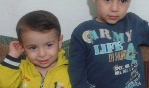 Aylan Kurdi, left, and his brother, Galip. This photo was taken, and posted, by their aunt, Tima Kurdi, who petitioned for their safe passage to Canada. Her request was denied. Rest in paradise, Aylan, Galip, and Rehen Kurdi. <3 <3 <3