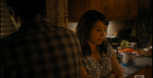 Travis does not reply, turns back to the sink, and Liza reports on Griselda's foot...it is crushed, and the tissue has already started to die...untreated, infection will set in, poison Griselda's blood, leading to organ failure. Travis turns to Liza, tells her it's not going to come to that.
