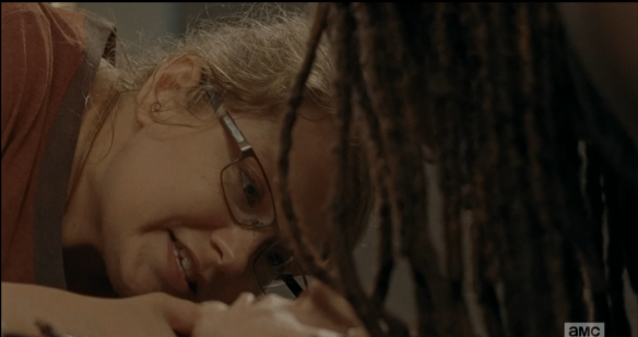 michonne rick 3 one more suture